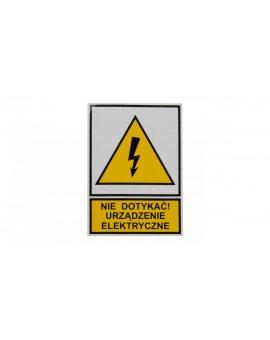 Tabliczka /znak ostrzegawczy/ TZO 52X74S /N.D.U.E./ E04TZ-01011110100 /10szt./