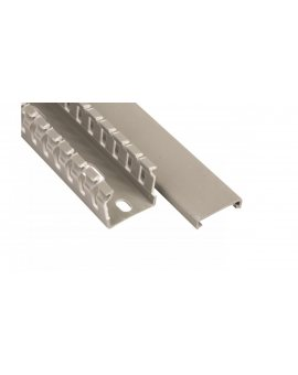 Korytko grzebieniowe KOPD 25X25/2 szare E02KK-01010200101 /2m/