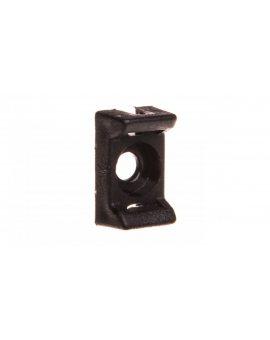 Podstawka montażowa do opasek 8, 5x13, 8mm czarna PMP-03-3-UV-100 25.233 /100szt./
