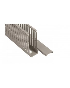 Korytko grzebieniowe 25x80 szare ECS2580 /2m/