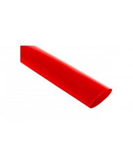 Rura termokurczliwa cienkościenna CR 25, 4/12.7 - 1 cal czerwona /1m/