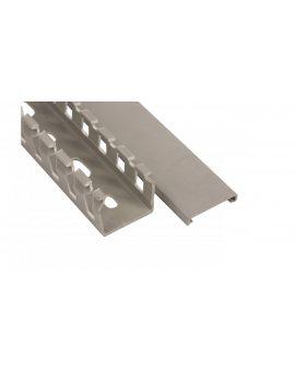 Korytko grzebieniowe T1 25X25 G jasnoszare ECA2525 /2m/