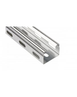 Korytko kablowe perforowane 35x30 grubość 0, 5mm KGR/KPR35H30/2 130103 /2m/
