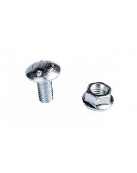 Śrubaz łbem grzybkowym + nakrętka kołnierzowa ząbkowana SGK M8X16 654041 /100szt./