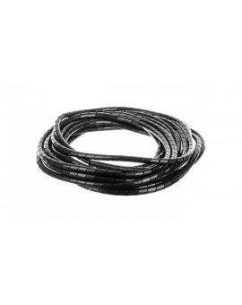 Wąż osłonowy spiralny 12/10mm czarny SP12BK /10m/