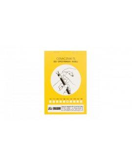 Oznacznik do opisywania ręcznego TS 3 biały E04ZP-02010100400 /100szt./