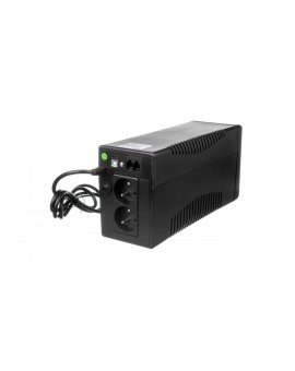 UPS POWER WALKER LINE-INTERACTIVE 650VA 2x 230V PL OUT, RJ11 IN/OUT, USB, LCD VI 650 LCD FR