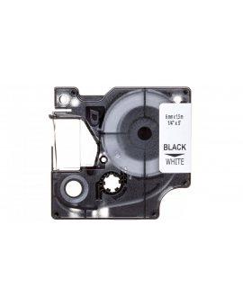 Taśma/rurka termokurczliwa do drukarek 6mm x 1, 5m biała S0718260 18051