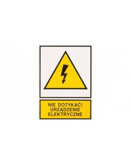 Tabliczka /znak ostrzegawczy/ TZO 148X210S /N.D.U.E./ E04TZ-01011140100 /10szt./