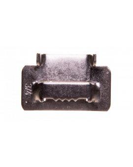 Zapinka /klamerka/ do taśm stalowych TSR 304 A304/19 E01TK-04030100401
