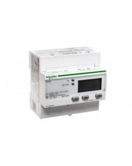 Licznik energii elektrycznej 1/3-fazowy 5A przekładnik 100-277/173-480V kl.0, 5S/C Modbus MID taryfowy cyfrowy iEM3255 A9MEM3255