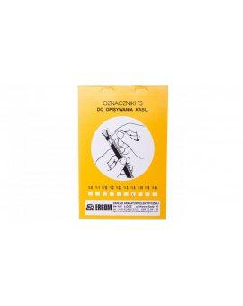Oznacznik do opisywania ręcznego TS 5 biały E04ZP-02010100500 /50szt./