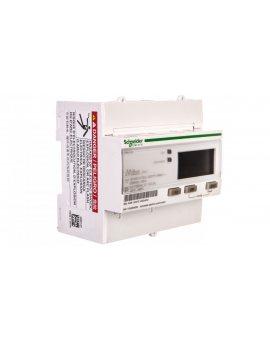Licznik energii elektrycznej 1/3-fazowy 63A 100-277/173-480V kl.1/B M-Bus MID taryfowy cyfrowy modułowy iEM3135 A9MEM3135