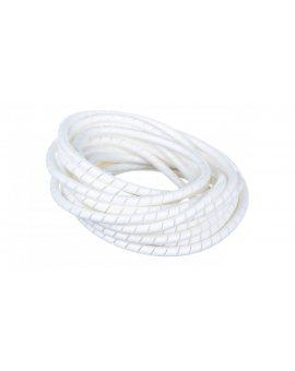 Wężyk ochronny spiralny WSN 10 V2 biały E01WS-01010300400 /10m/