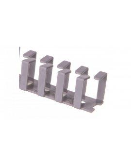 Korytko grzebieniowe elastyczne naklejane 20x20x500 szare /0.5m/ EC23413