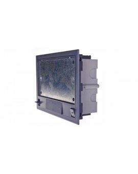 Simon Connect Puszka SF podłogowa poczwórna 8xK45 70mm + SM402/9 szara SF470/1