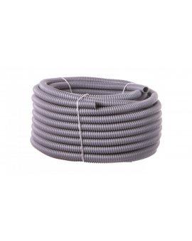 Rura ochronna karbowana PVC SILVYN EL 16x21 ciemnoszara 61747380 /30m/