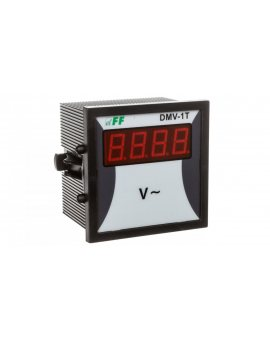 Woltomierz 1-fazowy cyfrowy 0-600V AC dokładność 1% DMV-1T