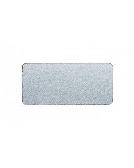 Etykieta opisowa samoprzylepna 12, 5x27mm srebrna bez opisu Sirius ACT 3SU1900-0AC81-0AA0