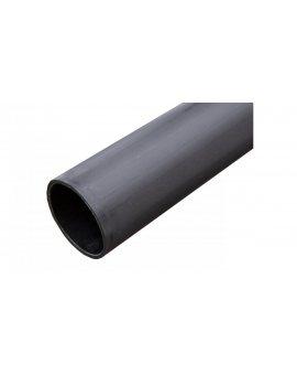 Rura osłonowa gładka kielichowa czarna 75mm UV 75X4 /3m/