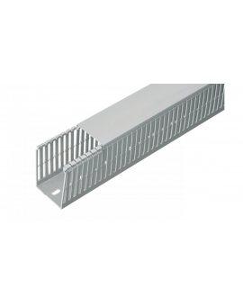 Korytko grzebieniowe bezhalogenowe z pokrywą SH25x80 szare /2m/ ECSH2580