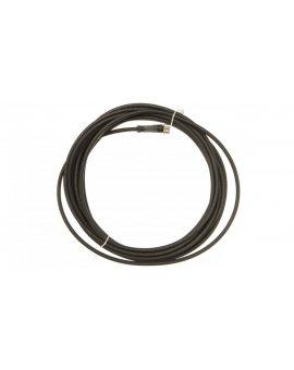Złącze żeńskie M8 proste 3-pinowe kabel 5m PUR XZCP0566L5