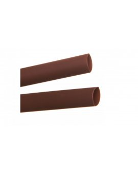 Rura termokurczliwa cienkościenna CR 4, 8/2, 4 - 3/16 cala brązowa /1m/ 8-7077 /50szt./