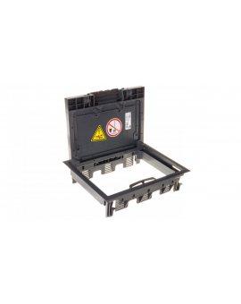 Kaseta podłogowa zasilająca 9-modułowa szara GES6-2U10T 7011 7405321