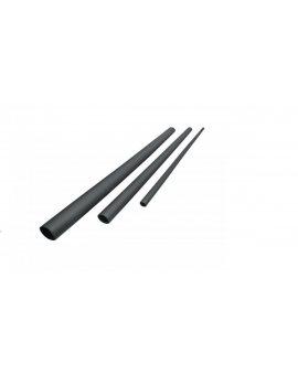Rura termokurczliwa cienkościenna czarna RTC_1, 6-0, 8-C /100szt./