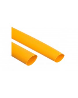 Rura termokurczliwa cienkościenna CR 9, 5/4, 7 - 3/8 cala żółta /1m/ 8-7102 /50szt./