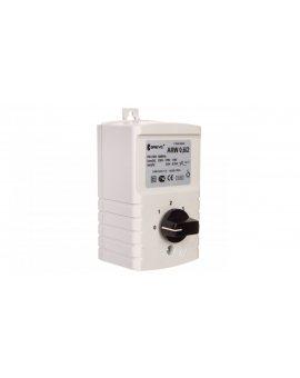 Regulator prędkości obrotowej 1-fazowy ARW 0, 6/2 230V 0, 6A IP54 17886-9938