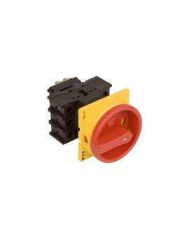 Łącznik krzywkowy 0-1 3P 32A do wbudowania P1-32/EA/SVB 081438