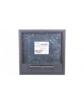tehalit.VE-EE Pokrywa uchylna VQ06 200x200 wykładzina 12mm stal szary PA VQ06127011