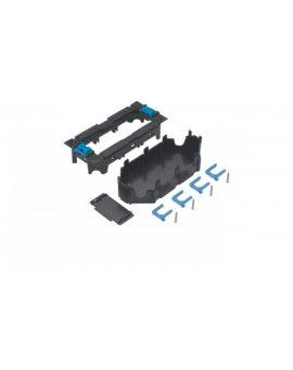 tehalit.GB-EG Puszka montażowa 3-krotna 45x45mm PC-ABS czarny GTVR300