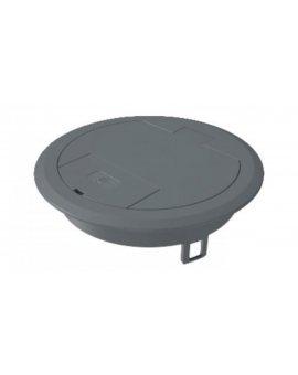 Kaseta zasilająca z wyjściem przewodu plastikowa szara GES R2 7011 7405082