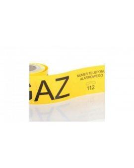 Folia żółta z nadrukiem, szerokość 20 cm TO-Gn/30/20/100mb