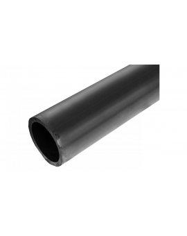 Rura osłonowa gładka czarna 110mm RHDPEP 110X6.3 /6m/