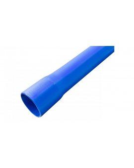 Rura osłonowa gładka kielichowa niebieska 75mm RHDPE 75X4.5 NK L6 /6m/