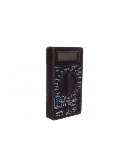 Miernik uniwersalny, multimetr 200-750V AC, 200mV-1000V DC, 200uA-200mA DC, 200Ohm-2000kOhm OR-AE-1334