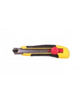Nóż z ostrzem łamanym 18 mm blokada śrubowa 17B118