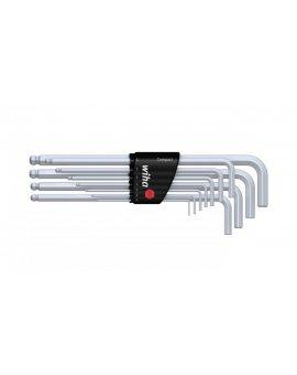 Zestaw kluczy imbusowych długich z końcówką kulistą 11-sztuk 1, 5-10mm SB369H11 36454