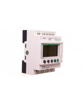Przekaźnik programowalny 24V DC 8we, 4wy Zelio Logic SR2B121BD