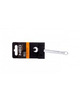 Klucz płasko-oczkowy HEX/V 7 x 110 mm 09-407