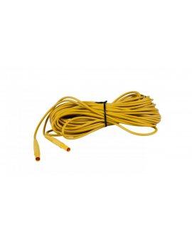 Przewód pomiarowy 20m żółty /wtyki bananowe/ WAPRZ020YEBB