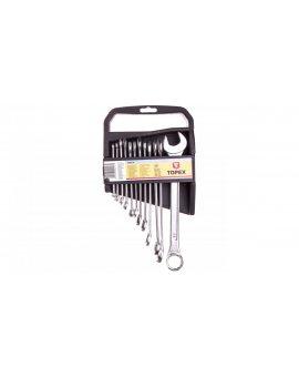 Klucze płasko-oczkowe 6-22mm (zestaw 12 szt.) 35D375