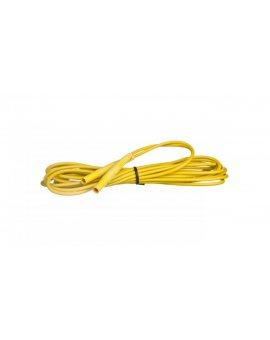 Przewód pomiarowy 5m żółty /wtyki bananowe/ WAPRZ005YEBB