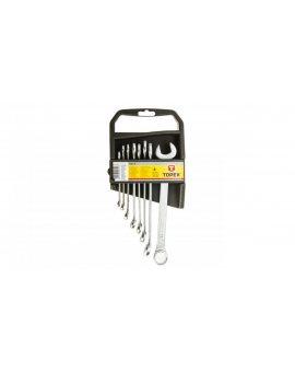 Klucze płasko-oczkowe 6-19mm (zestaw 8 szt.) 35D374