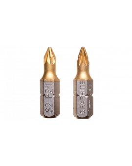 Końcówki wkrętakowe PZ1 x 25 mm 57H963 /2 szt./