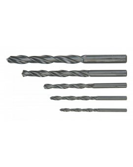 Wiertła do metalu HSS 4.0-10.0 mm zestaw 5 elementów 60H705