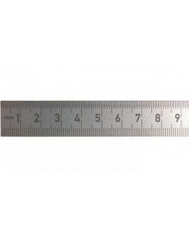 Linijka stalowa nierdzewna 100 mm 16-203-21